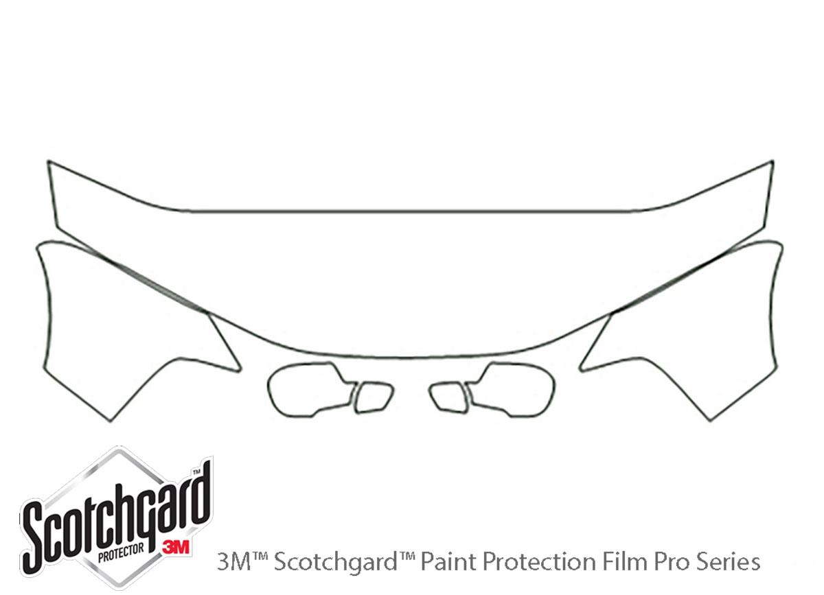 3M™ Chrysler 300M 1999-2004 Hood Paint Protection Kit