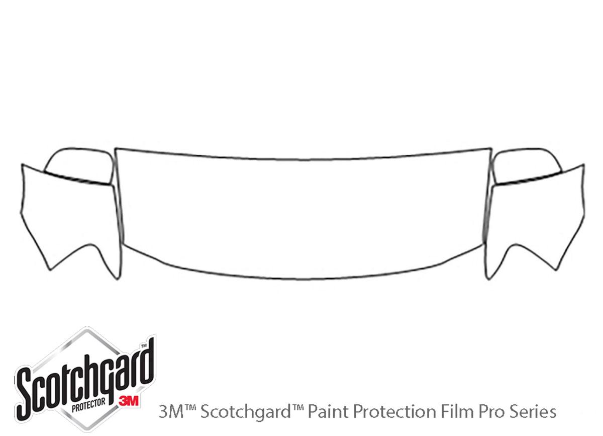 3M™ Chrysler Aspen 2007-2009 Hood Paint Protection Kit