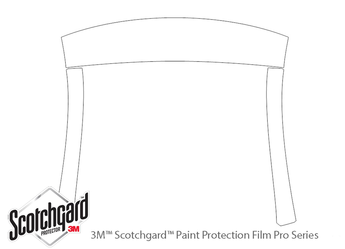 3M™ Dodge Charger 2006-2010 Roof and Pillar Paint