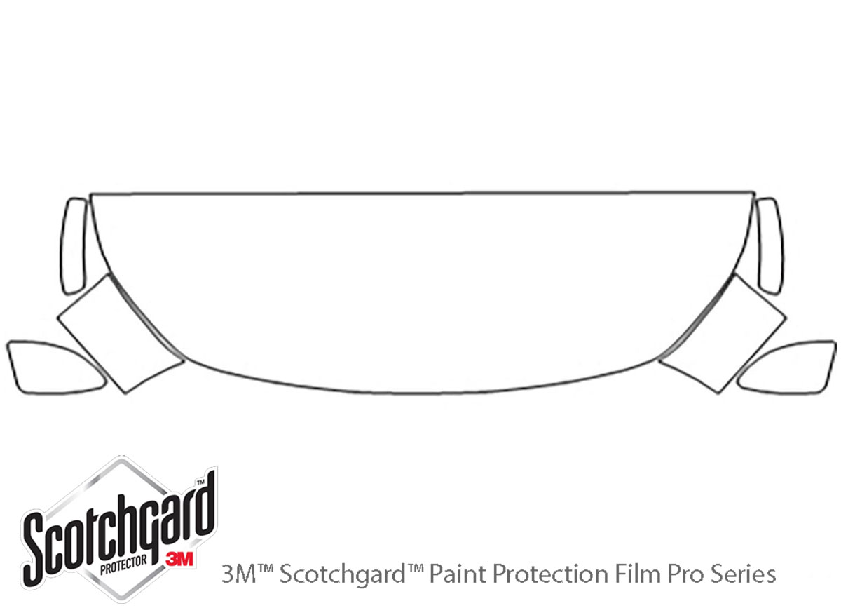 3M™ Fiat 124 Spider 2017-2020 Hood Paint Protection Kit