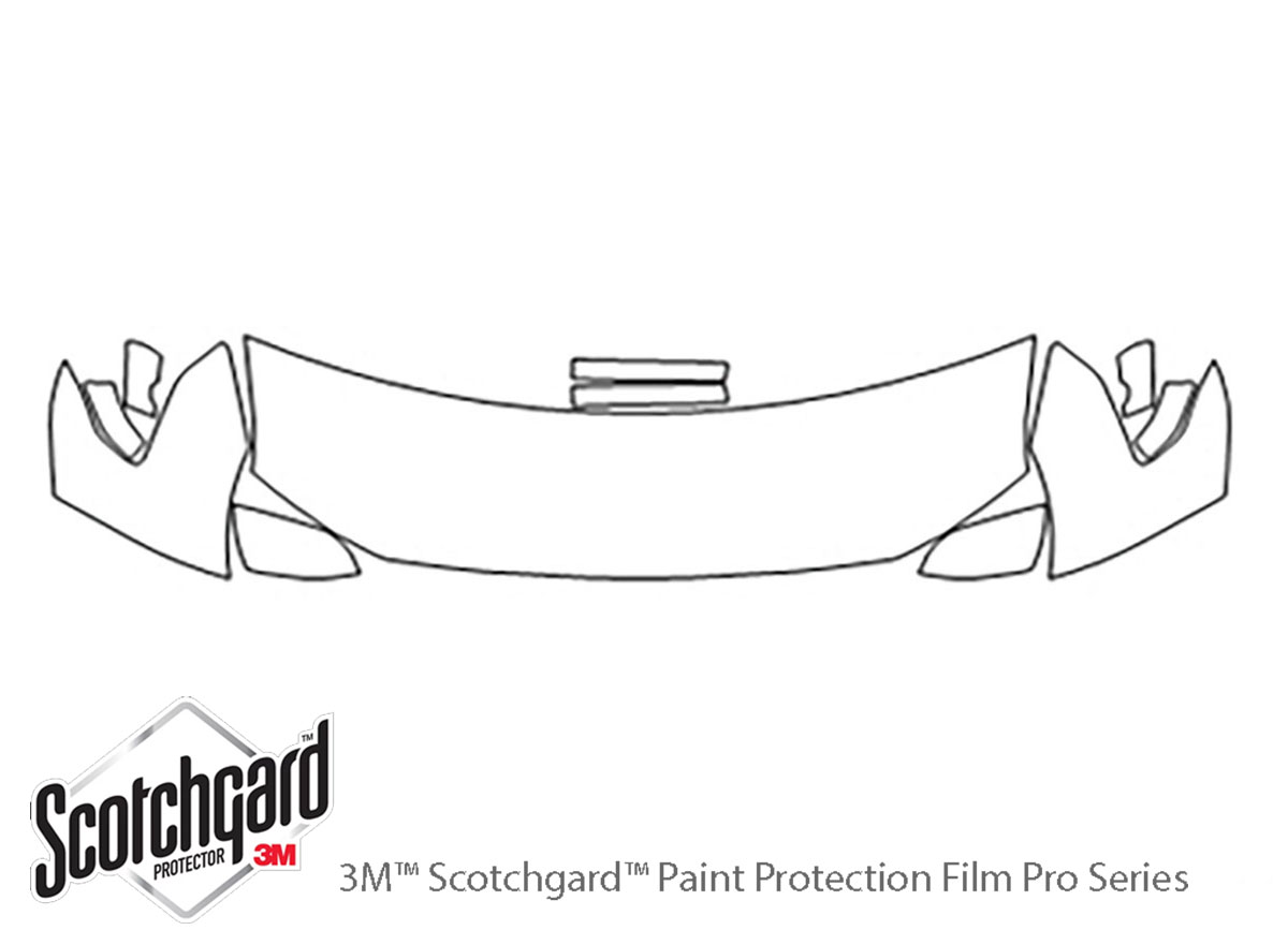 3M™ Ford Expedition 2018-2020 Hood Paint Protection Kit