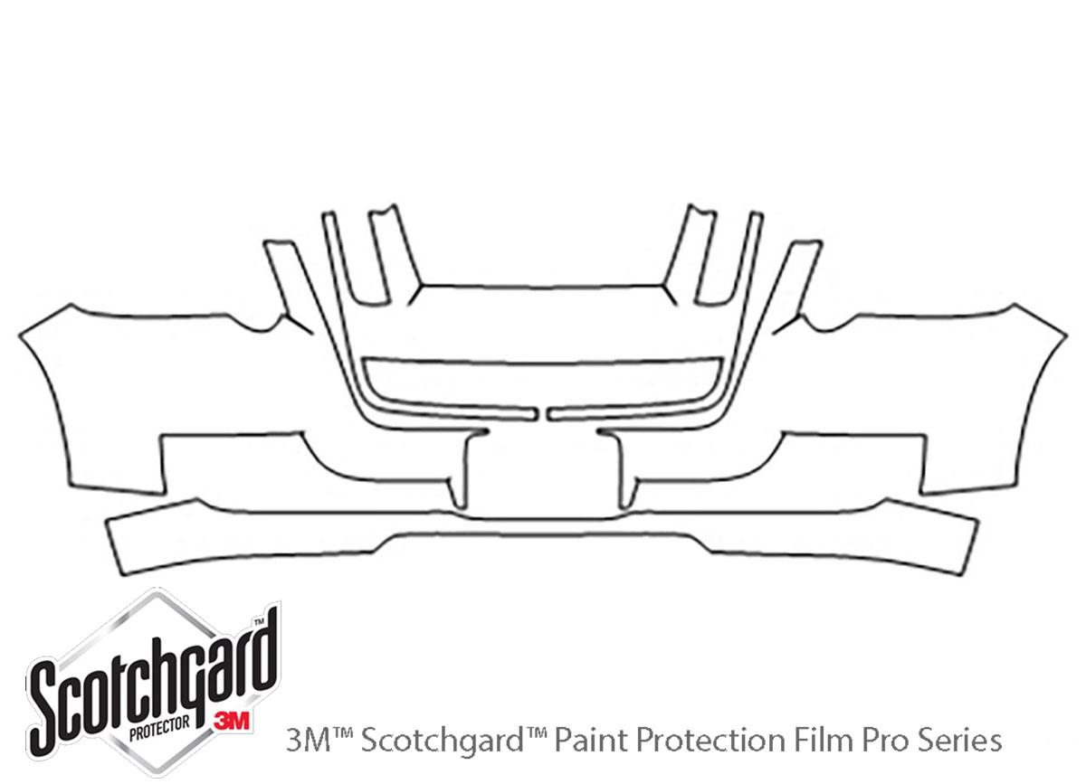 3M™ Ford Explorer Sport Trac 2007-2010 Bumper Paint