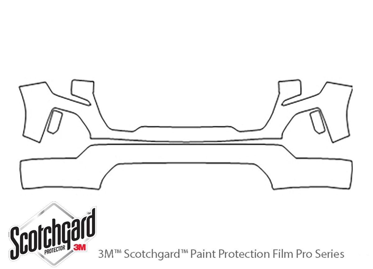 3M™ GMC Sierra 2019-2019 Bumper Paint Protection Kit