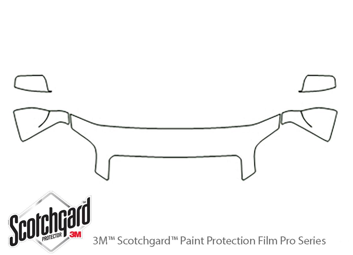 3M™ GMC Terrain 2010-2015 Hood Paint Protection Kit