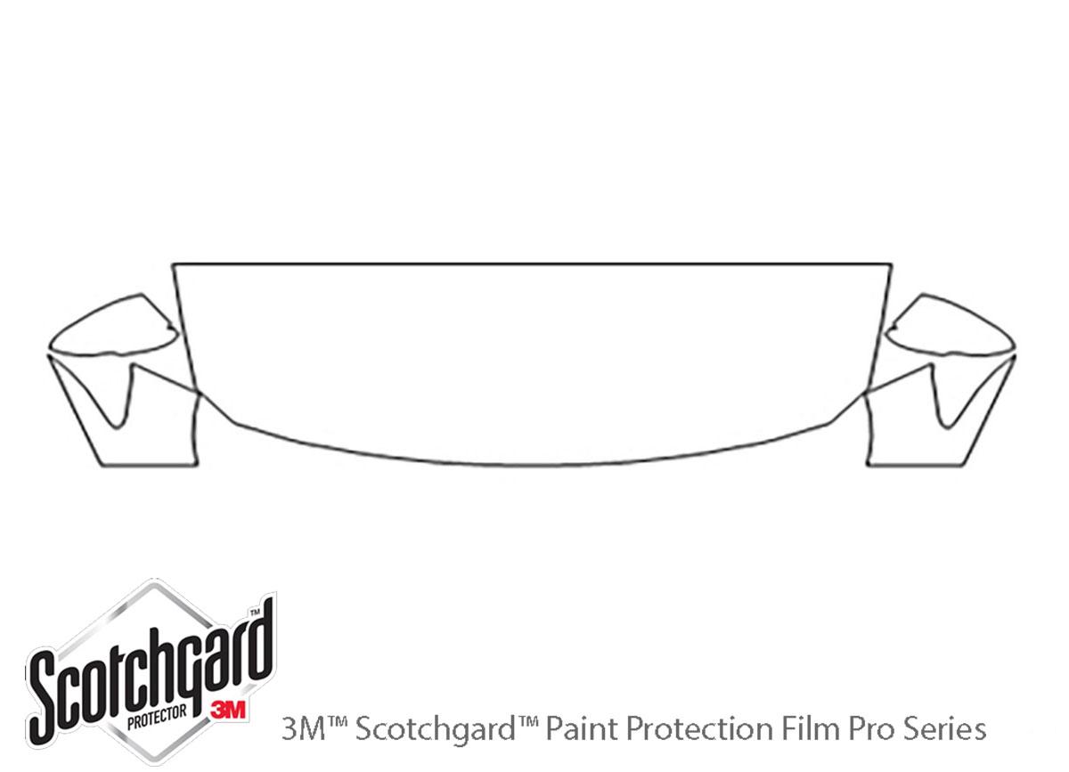 3M™ Honda Accord 2018-2019 Hood Paint Protection Kit