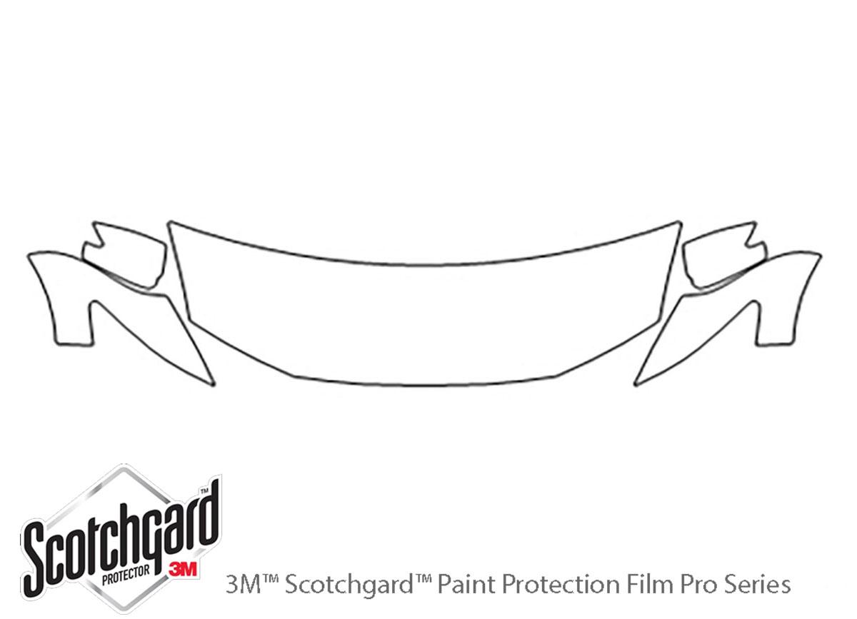 3M™ Honda Insight 2010-2014 Hood Paint Protection Kit