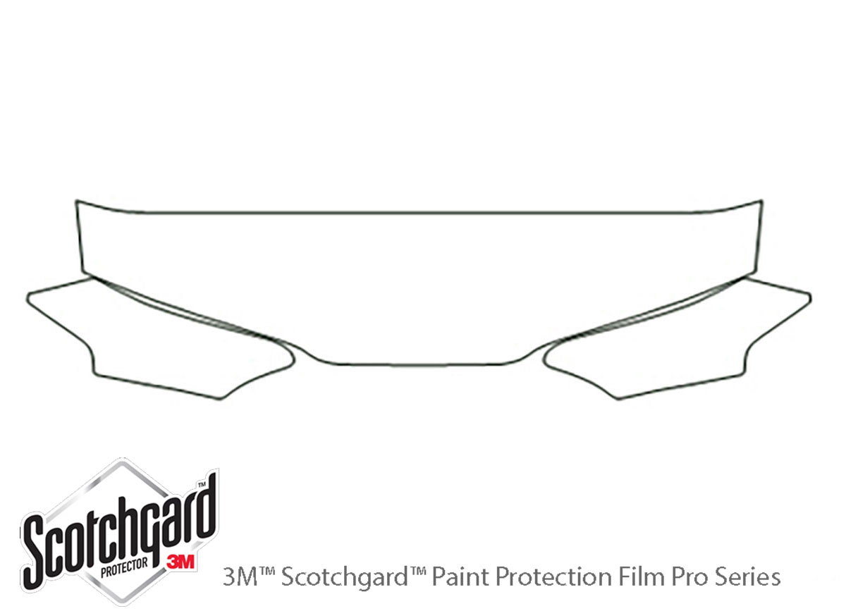 3M™ Honda Prelude 1992-1996 Hood Paint Protection Kit