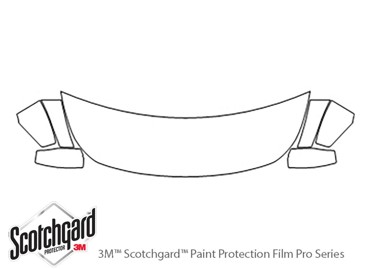 3M™ Infiniti G37 2008-2013 Hood Paint Protection Kit