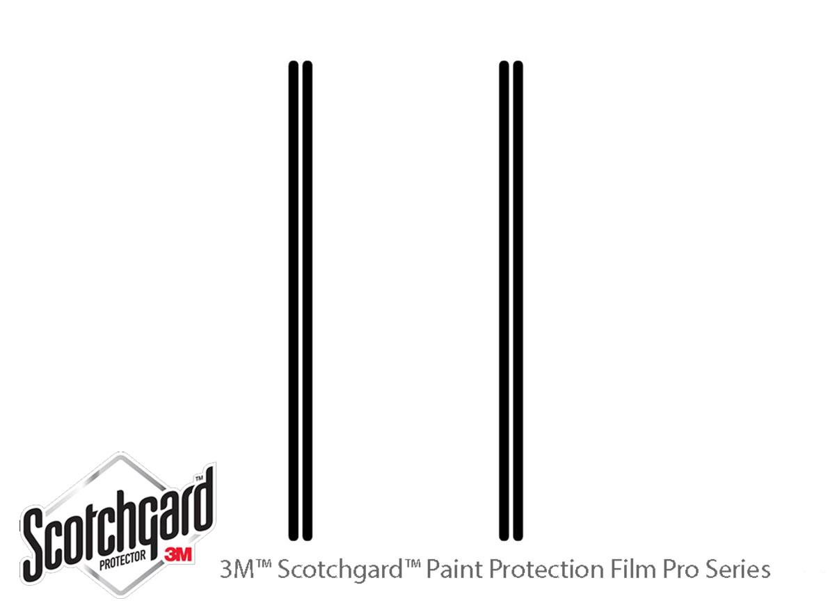 3M™ Kia Sportage 2017-2020 Door Edge Paint Protection Kit