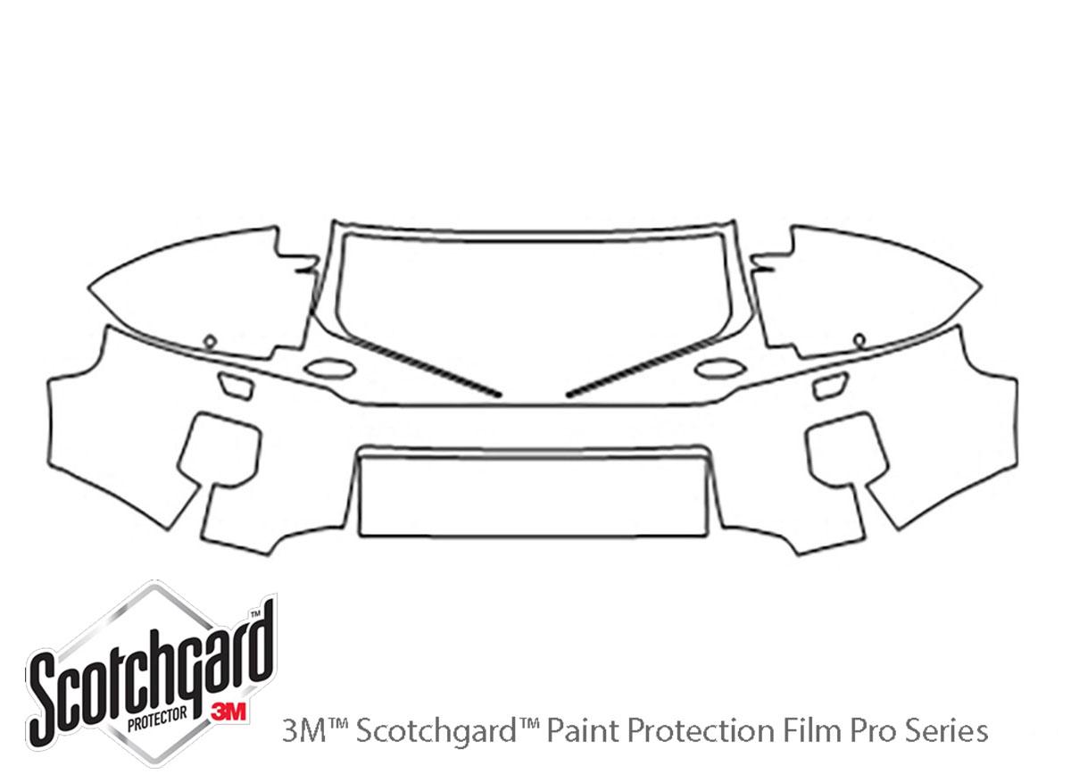 3M™ Land Rover LR2 2011-2015 Bumper Paint Protection Kit