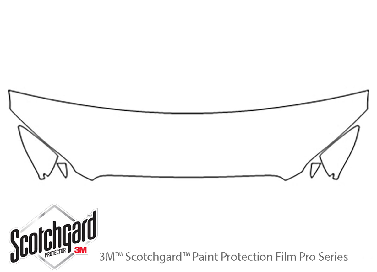 3m Lincoln Mkz Hood Paint Protection Kit