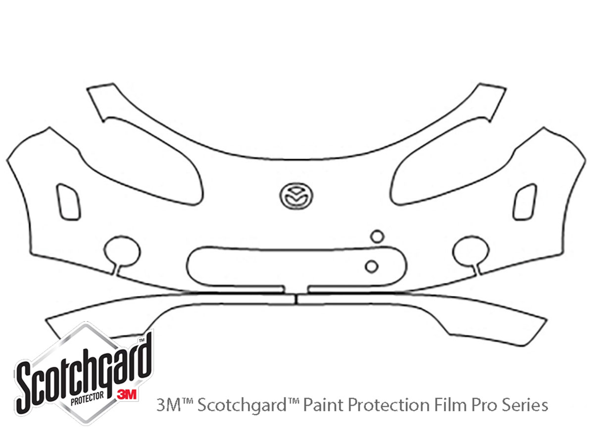 3M™ Mazda Miata 2006-2008 Bumper Paint Protection Kit