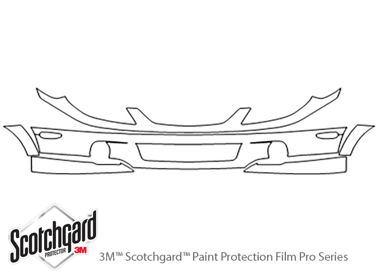 3m Mazda Protege Bumper Paint Protection Kit