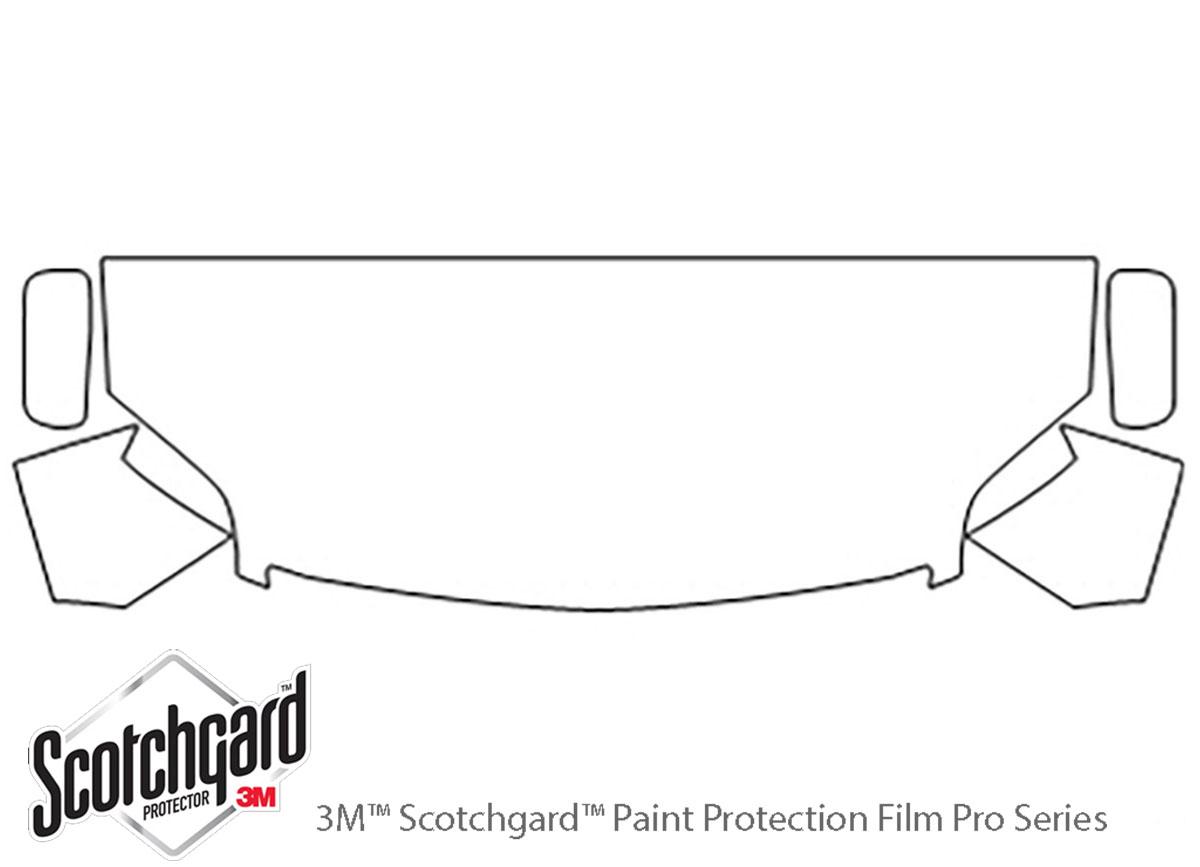 3M™ Mitsubishi Galant 2009-2010 Hood Paint Protection Kit