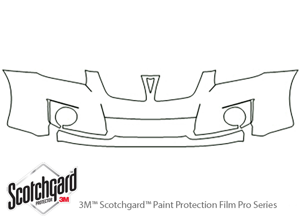 3M™ Pontiac Vibe 2009-2010 Bumper Paint Protection Kit