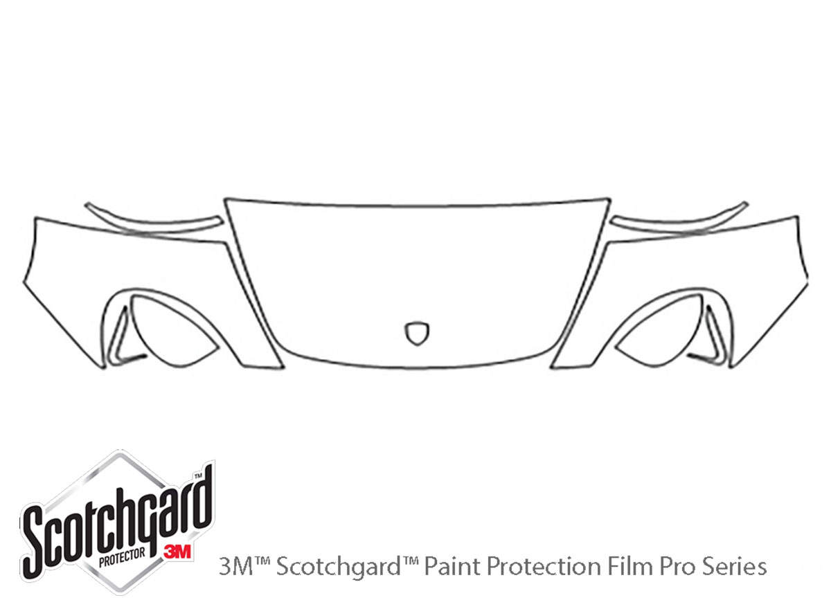 3m Porsche Carrera Gt Hood Paint Protection Kit