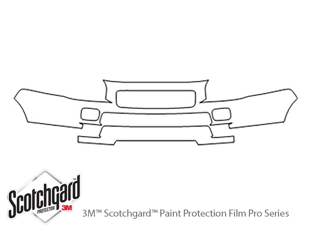 3M™ Saturn Relay 2005-2007 Bumper Paint Protection Kit