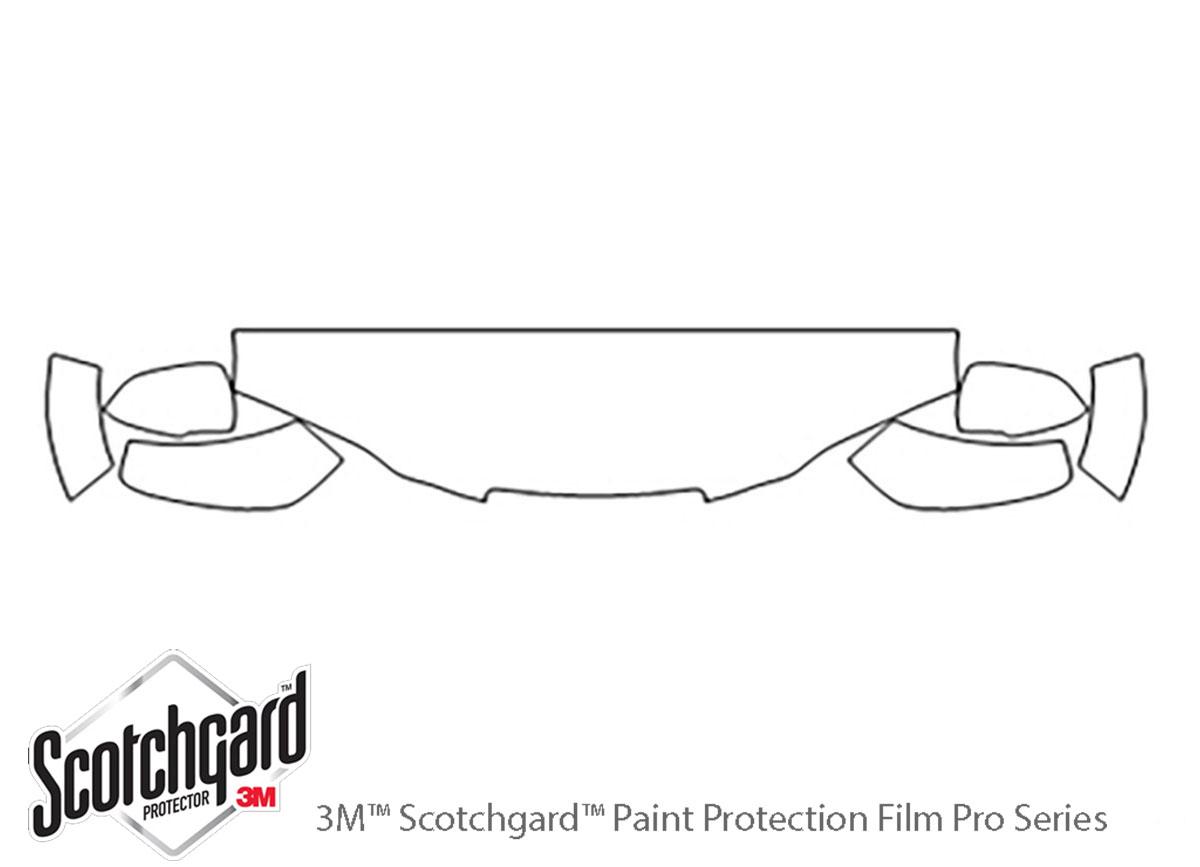 3m Saturn Vue Hood Paint Protection Kit
