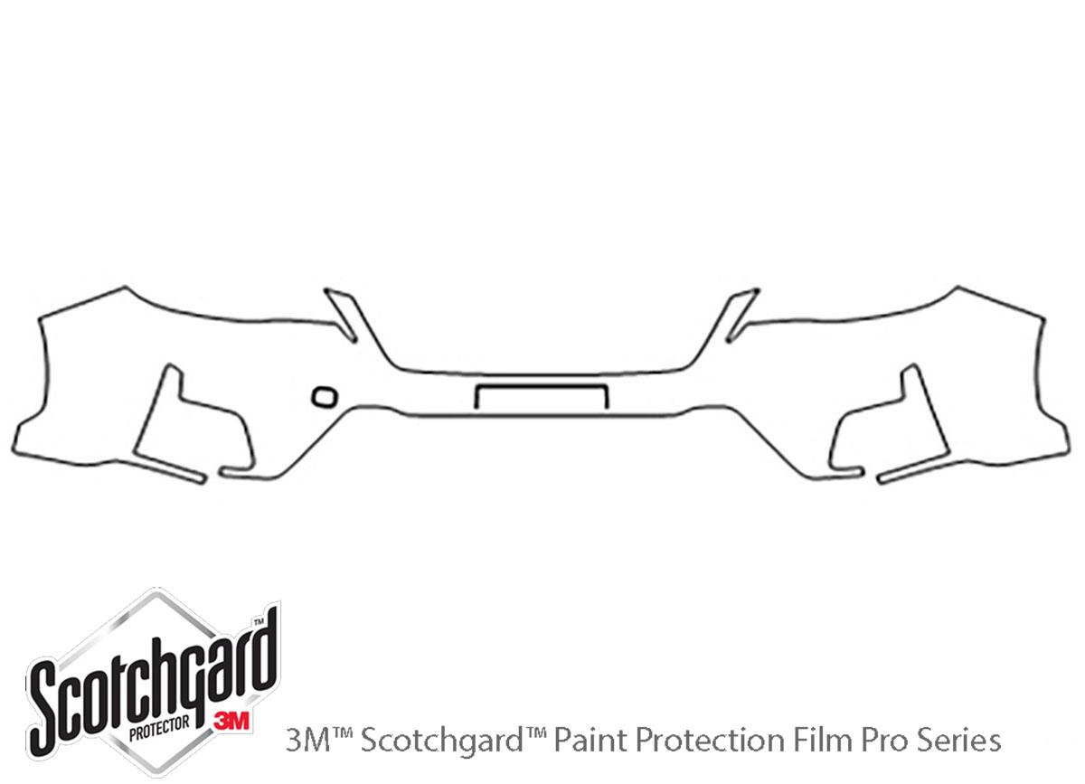 3M™ Subaru Crosstrek 2016-2017 Bumper Paint Protection Kit
