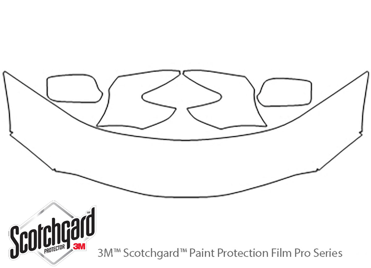3M™ Toyota Camry 2007-2011 Hood Paint Protection Kit
