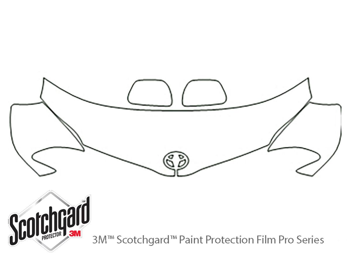 3M™ Toyota Sienna 2011-2017 Hood Paint Protection Kit