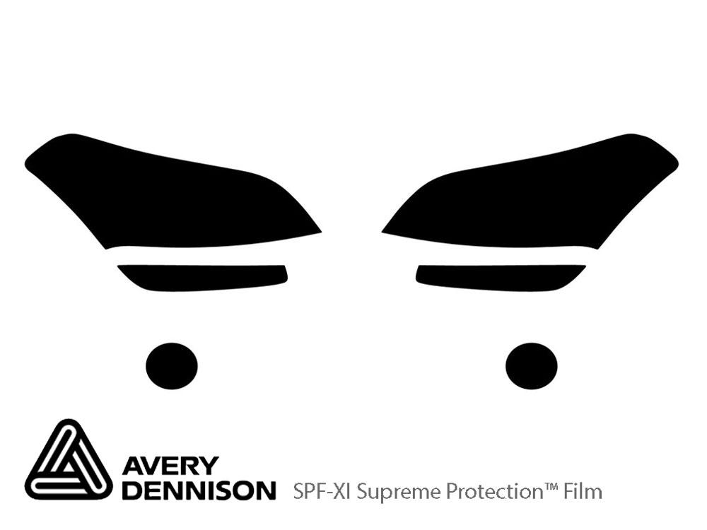 Avery Dennison® Kia Soul 2010-2011 Headlight Protection