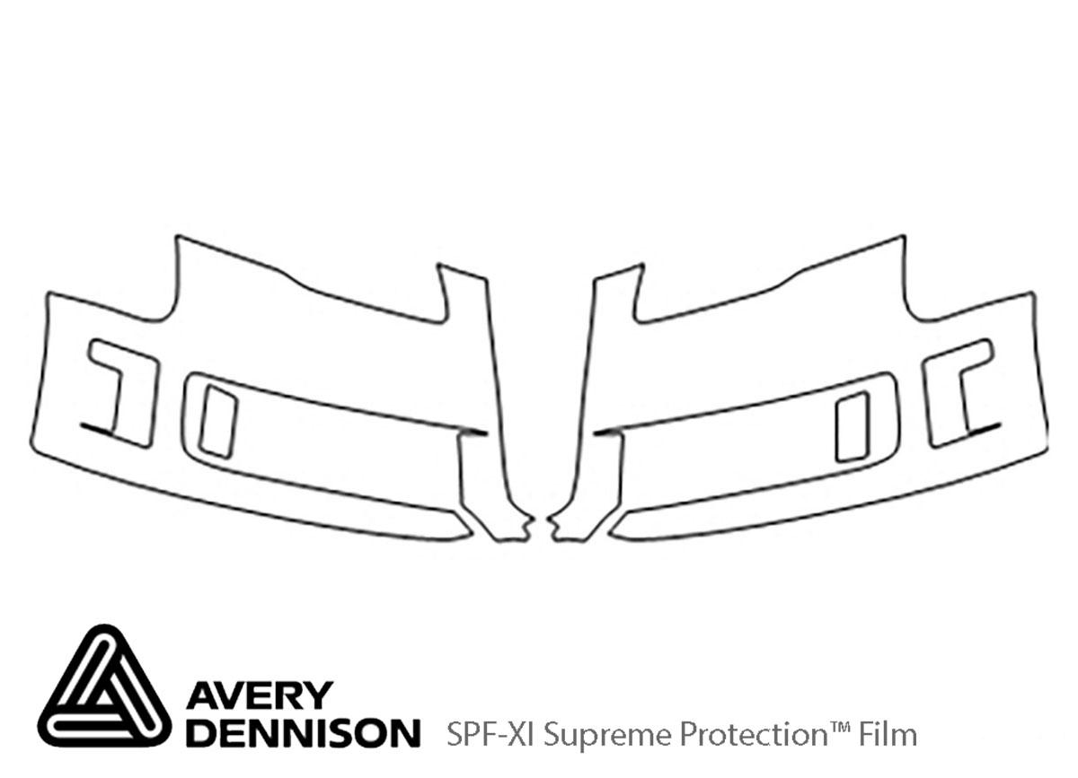 Avery Dennison Audi Rs4 Bumper Paint Protection