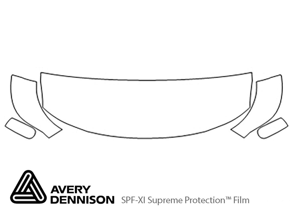 Avery Dennison Audi Tt Hood Paint Protection