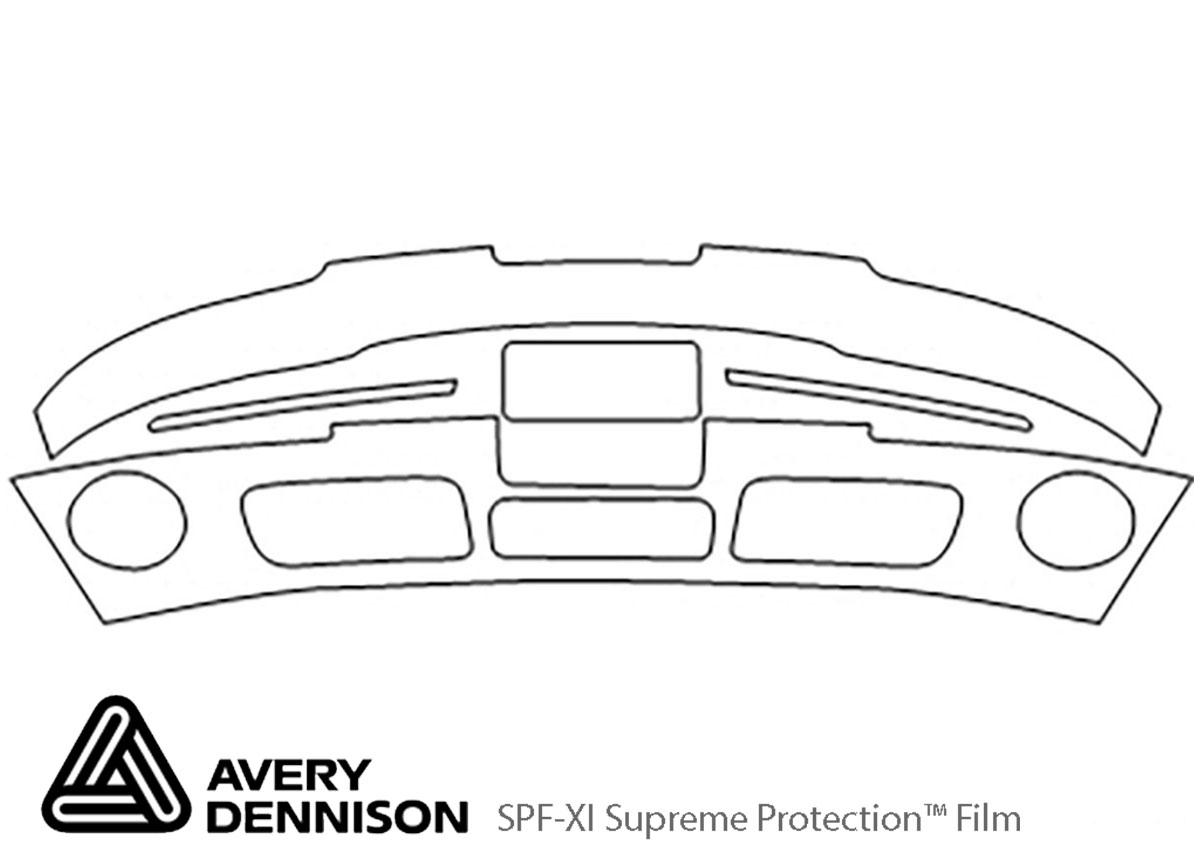 Avery Dennison™ Hyundai XG350 2002-2003 Bumper Paint