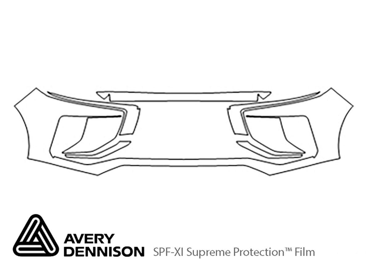Avery Dennison Mitsubishi Eclipse Cross Bumper