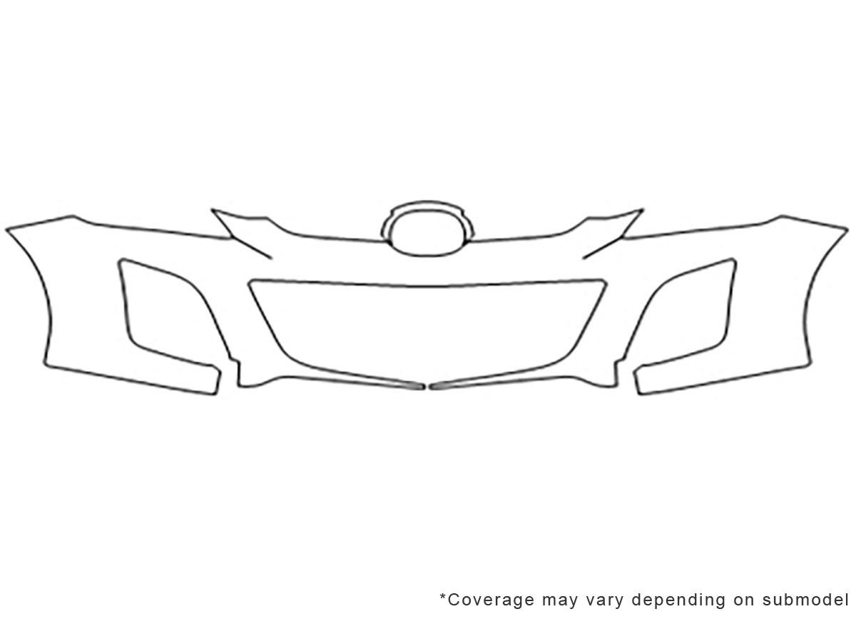 3M™ Mazda CX-7 2010-2012 Bumper Paint Protection Kit
