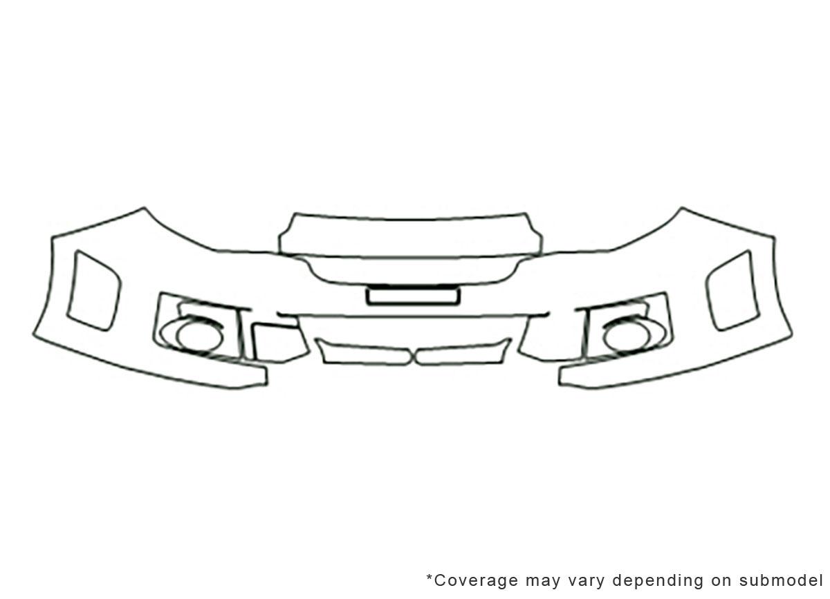3M™ Subaru WRX 2012-2014 Bumper Paint Protection Kit
