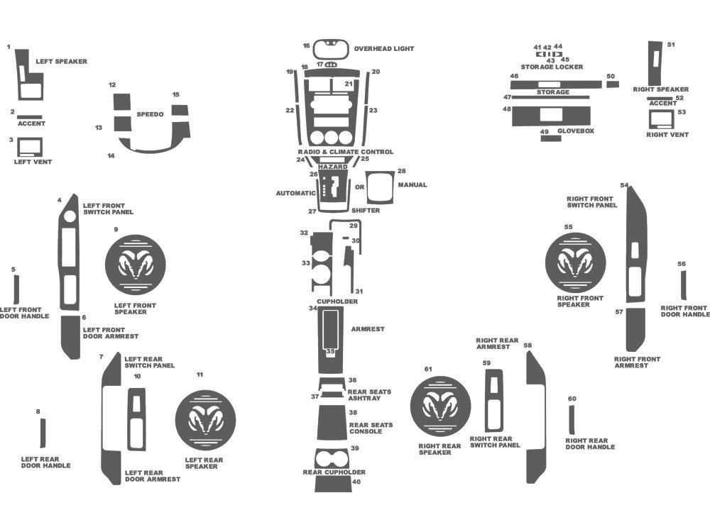 Rtint® Dodge Caliber 2007-2012 Tail Light Tint Film