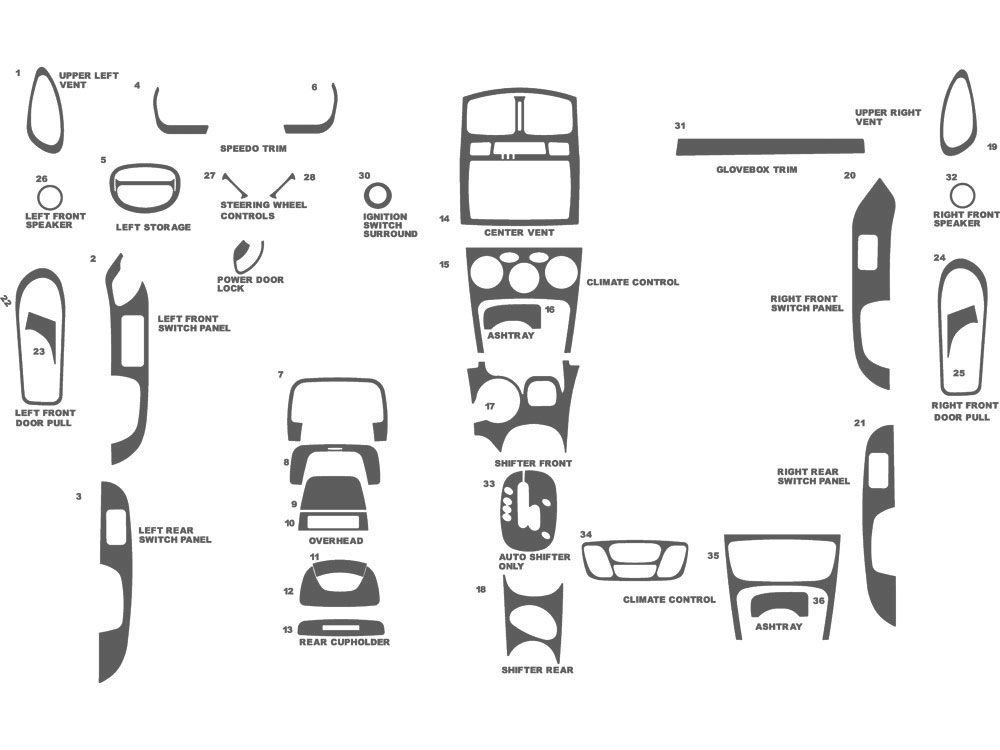 Hyundai Santa Fe Door Diagrams. Hyundai. Auto Parts