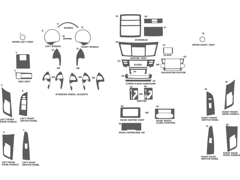 2008 Toyota Highlander Diagram. Toyota. Auto Parts Catalog