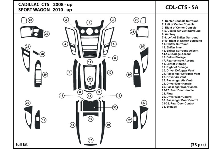 2003 Cadillac Escalade Instrument Panel Diagram