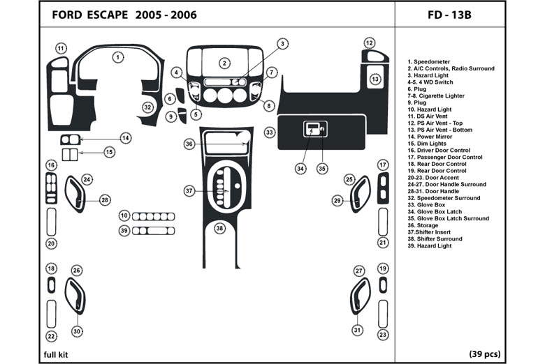 Radio Wiring Diagrams 2000 Ford Taurus Sel 1997 Ford