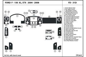 DL Auto® Ford F150 20042008 Dash Kits