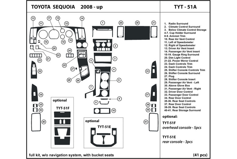 Shifter Embly 2003 Toyota Sequoia Parts Diagram. Toyota