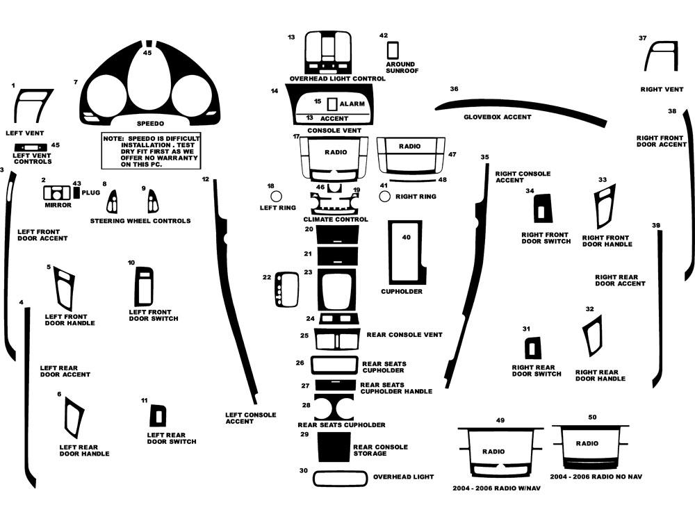 2004 acura tl radio wiring diagram