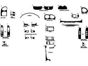 2005 Buick Rainier Dash Kits | Custom 2005 Buick Rainier