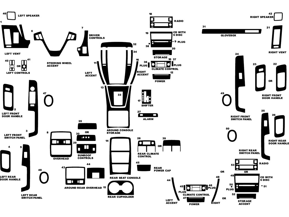 2006 Cadillac Cts Interior Diagram. Cadillac. Wiring