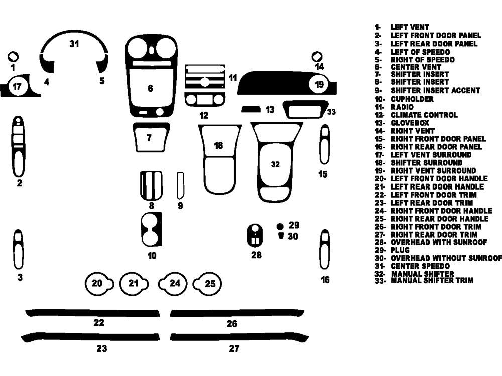 2004 chevy impala radio wiring kit