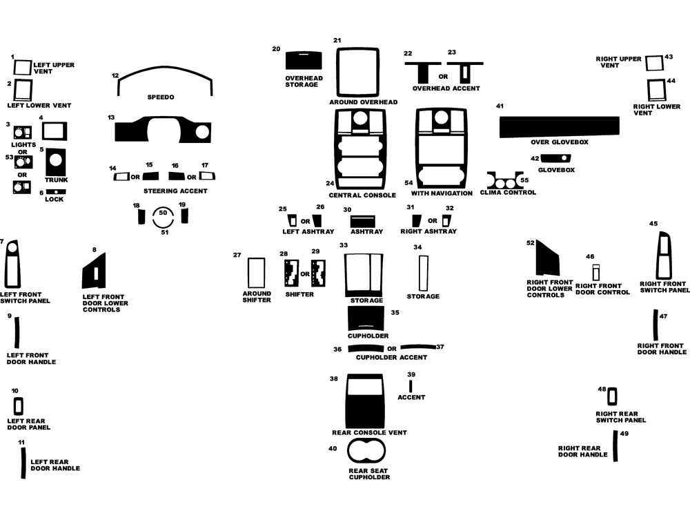 Service manual [2005 Chrysler 300 Dash Removal Diagram