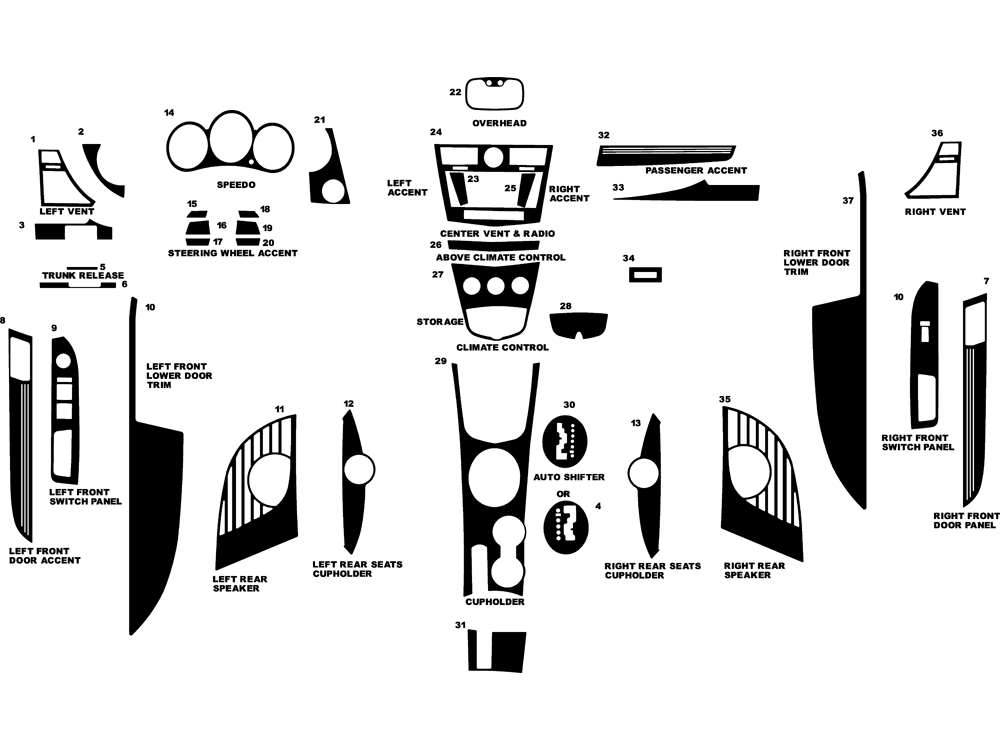 Chrysler Sebring Dashboard Diagram, Chrysler, Free Engine
