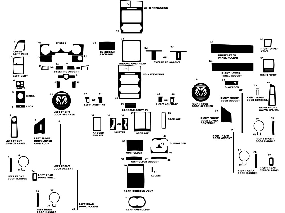 2007 Dodge Charger Headlight Diagram. Dodge. Auto Parts