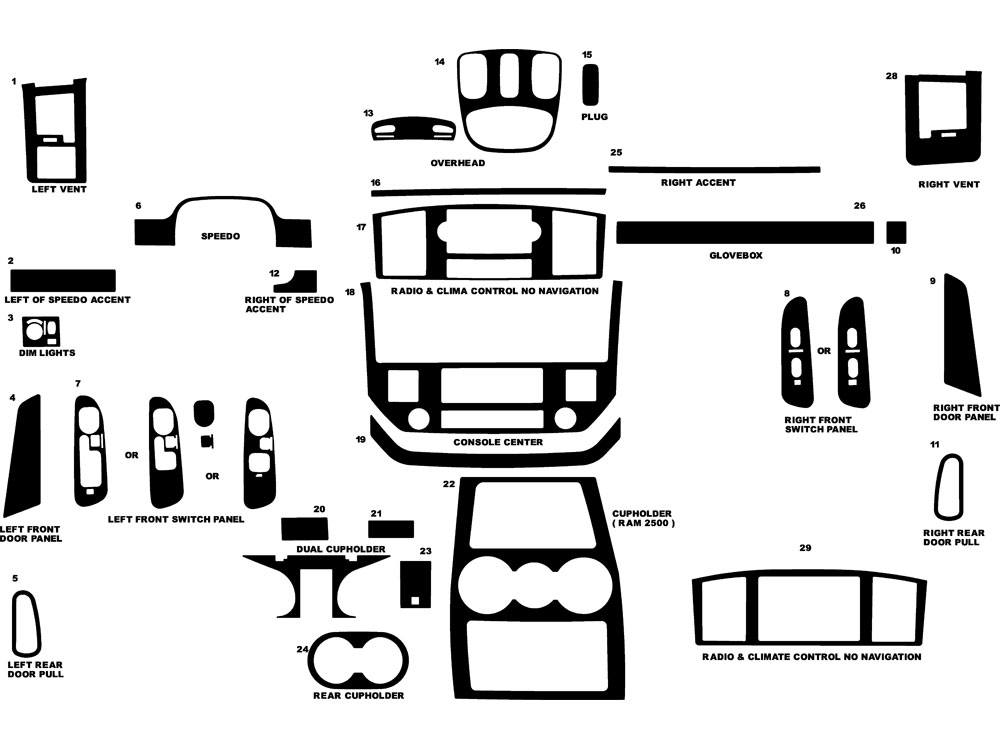 2006 Dodge Ram 1500 Parts Diagram Kes. Dodge. Auto Parts