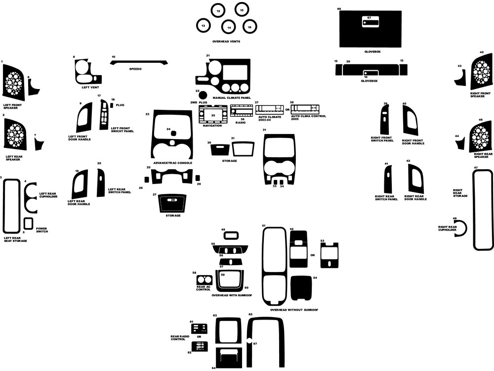 Wiring Diagram: 30 2006 Ford Expedition Parts Diagram