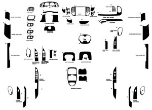 2000 Ford F150 Dash Kits | Custom 2000 Ford F150 Dash Kit