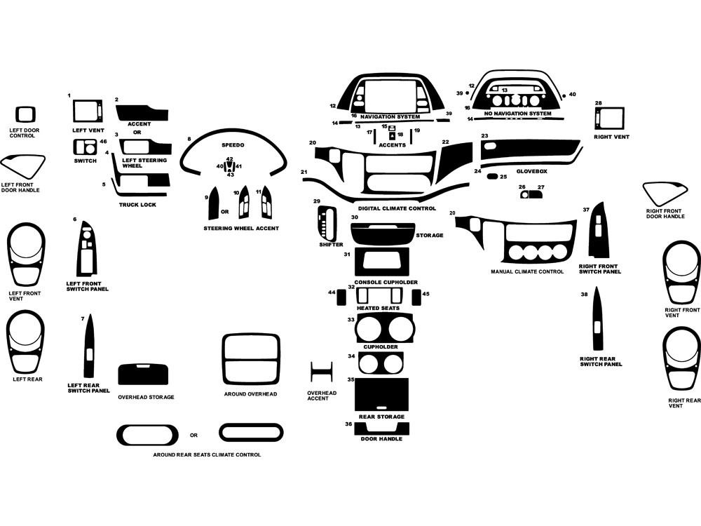 2006 Honda Odyssey Dash Diagram. Honda. Wiring Diagrams
